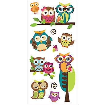 Paper House Puffy Stickers 3
