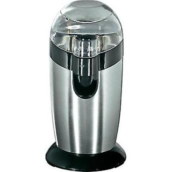 Bean grinder Clatronic KSW 3307 Stainless steel 283024 Stainless steel cleaver
