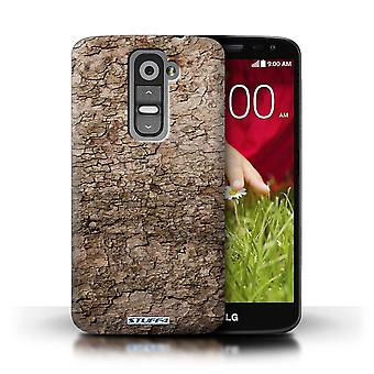 STUFF4 Phone Case / Cover for LG G2 Mini/D620 / Cracked Design / Tree Bark Collection