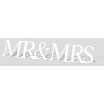 Hr. & fru gigant tegnet pap påklædningsdukke / Standee / står