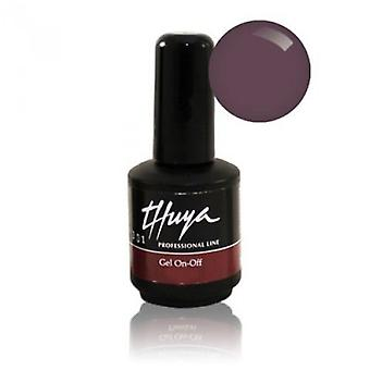 Thuya On-Off Gel 14 ml Aubergine (kvinde, Makeup, negle, neglelak)