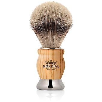 Mondial 1908 Badger Shaving Brush Olive Wood Diameter 20 Mm (Man , Shaving , Brushes)
