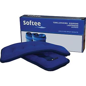 Softee Muñ.-Tob. 2 x 2 Kg ballasted (Home , Well-being and relax , Sport accessories)
