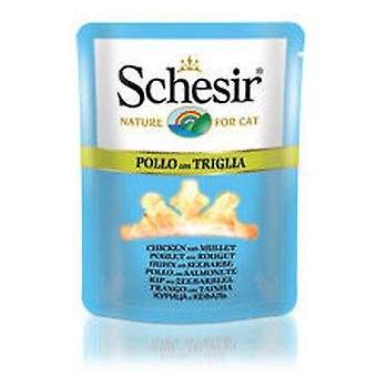 Schesir Chicken with Mullet Broth (Cats , Cat Food , Wet Food)
