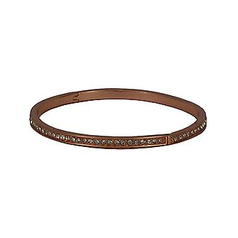 Samantha sleek rose gold bangle with embellishments