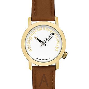 Akteo Gold Writer (1) (Fashion accesories , Watches , Analog)
