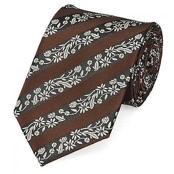 Paisley tie Brown grey by Fabio Farini