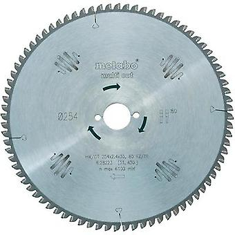 Hard-metal circular saw blades multi cut HW/CT 315x30 96 FZ/TR Metabo 628092000 Di