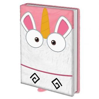 Despicable Me Premium A5 Notebook Fluffy Unicorn