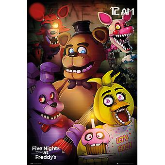 Five Nights At Freddy's Group Maxi Poster