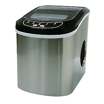 Ice Appliance Super Fast Ice Maker in Stainless Steel