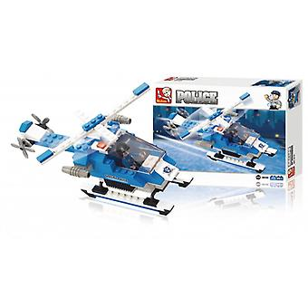 Sluban Building Blocks Police Series Police Helicopter