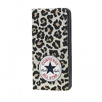 CONVERSE Canvas Handy Fällen iPhone 5/5 s/siehe Leopard