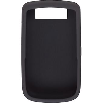BlackBerry Silicone Skin Case for Blackberry Tour 9630 (Black)