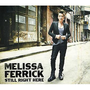 Melissa Ferrick - stadig Righthere [CD] USA import
