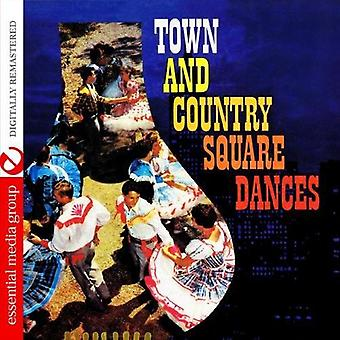 Square Dancers - Town & Country Square Dances [CD] USA import