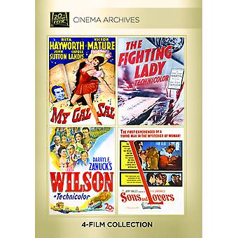 My Gal Sal / the Fighting Lady / Wilson / Sons [DVD] USA import