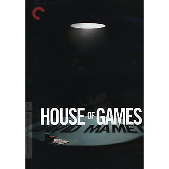 House of Games [DVD] USA import