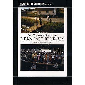 One Thousand Pictures: Rfk's Last Journey [DVD] USA import