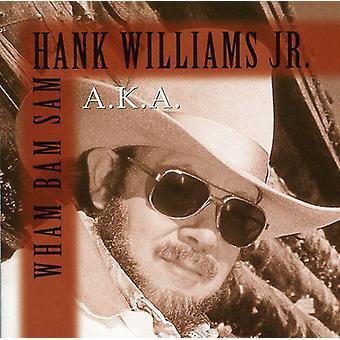 Hank Williams Jr. - Wham Bam Sam! [CD] USA import