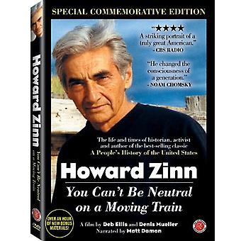Howard Zinn: Usted no puede ser Neutral en un E.e.u.u. movimiento Trai [DVD] importar