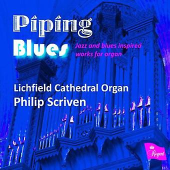 Philip Scriven - rygende Blues [CD] USA import