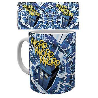 Doctor Who Vworp Mug