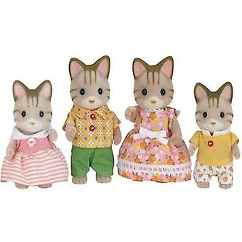 Sylvanian Families Family Cats Stripes