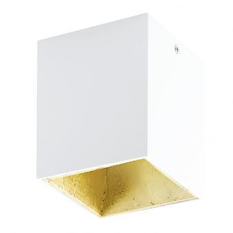 Quadrato di Eglo POLASSO bianco oro superficie LED Downlight