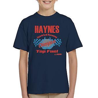 Haynes Marke Sparkford Raceway Top Fuel Kinder T-Shirt