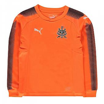 2017-2018 Newcastle Away Goalkeeper Shirt (Kids)