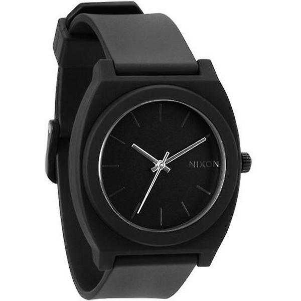Nixon The Time Teller P Watch - Matte Black