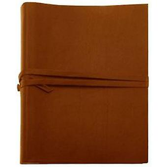 Coles Pen Company Chianti Extra Large Leather Photo Album - Brown