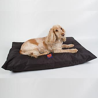 Ginger Ted Deep Cushion Waterproof Dog Bed  Dark Grey with Removeable Washable Cover