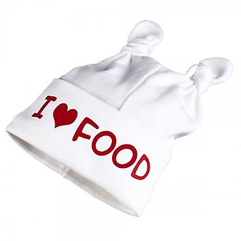 Spoilt Rotten I Love Food Baby Knot Hat
