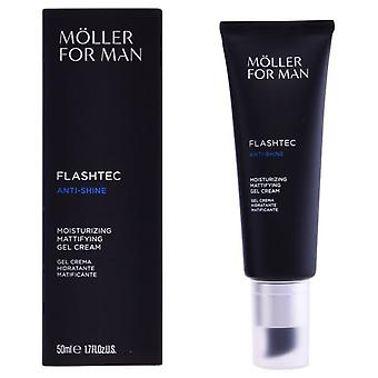 Anne Möller For Man Flashtec Mattifyng Anti Shine Moisturizing Gel Cream 50 Ml