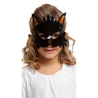My Other Me Cat Mask Sequins (Costumes)