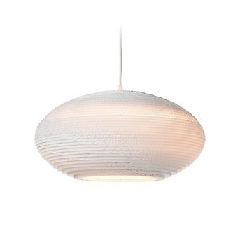 Graypants White Disc Pendant Light 20