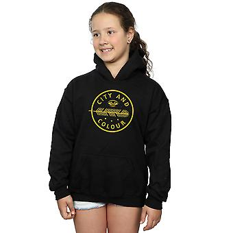 City and Colour Girls Feather Eye Hoodie