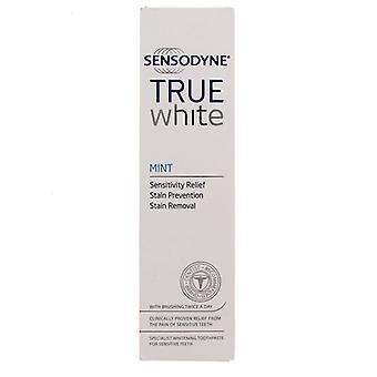 Dentifrice menthe blanche Sensodyne True