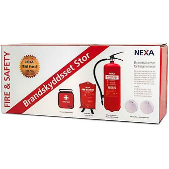 Fuoco di Nexa & sicurezza Brandskyddsset Big Red