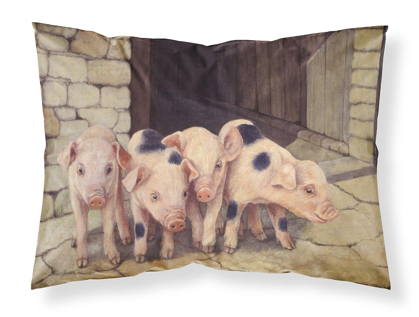 Baxter Taie Tissu Standard D'oreiller De Porcs Par Daphne Porcelets OPkX8w0n