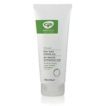Green People, Daily Aloe Shower Gel, 200ml
