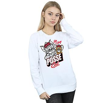 Tom And Jerry Women's Posse Cat Sweatshirt
