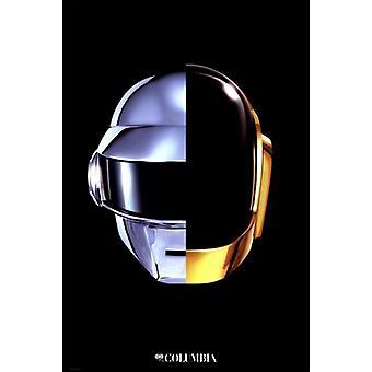 Daft Punk - Helm-Poster-Plakat-Druck