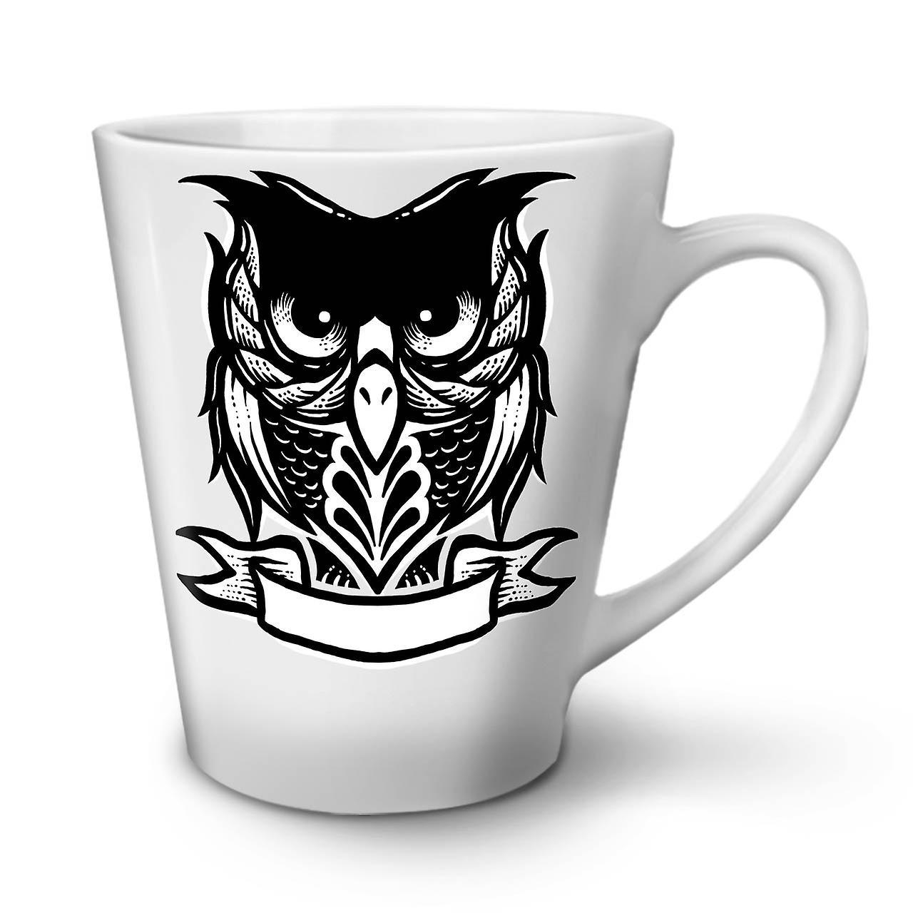 Latte En Tasse Café Animé Blanche OzWellcoda Céramique Dessin 12 Nouvelle Chouette JTF53uKlc1