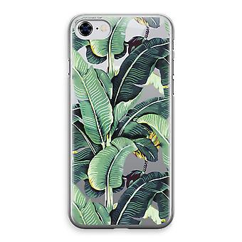 iPhone 8 Transparant Case - Banana leaves
