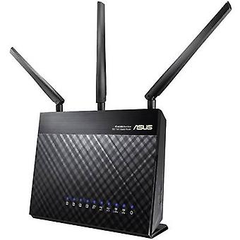 Router Asus RT-AC68U WiFi 2,4 GHz, 5 GHz 1.9 GB