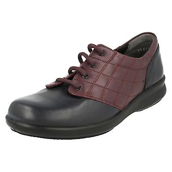 Ladies Easy B Lace Up Shoes Sizzle