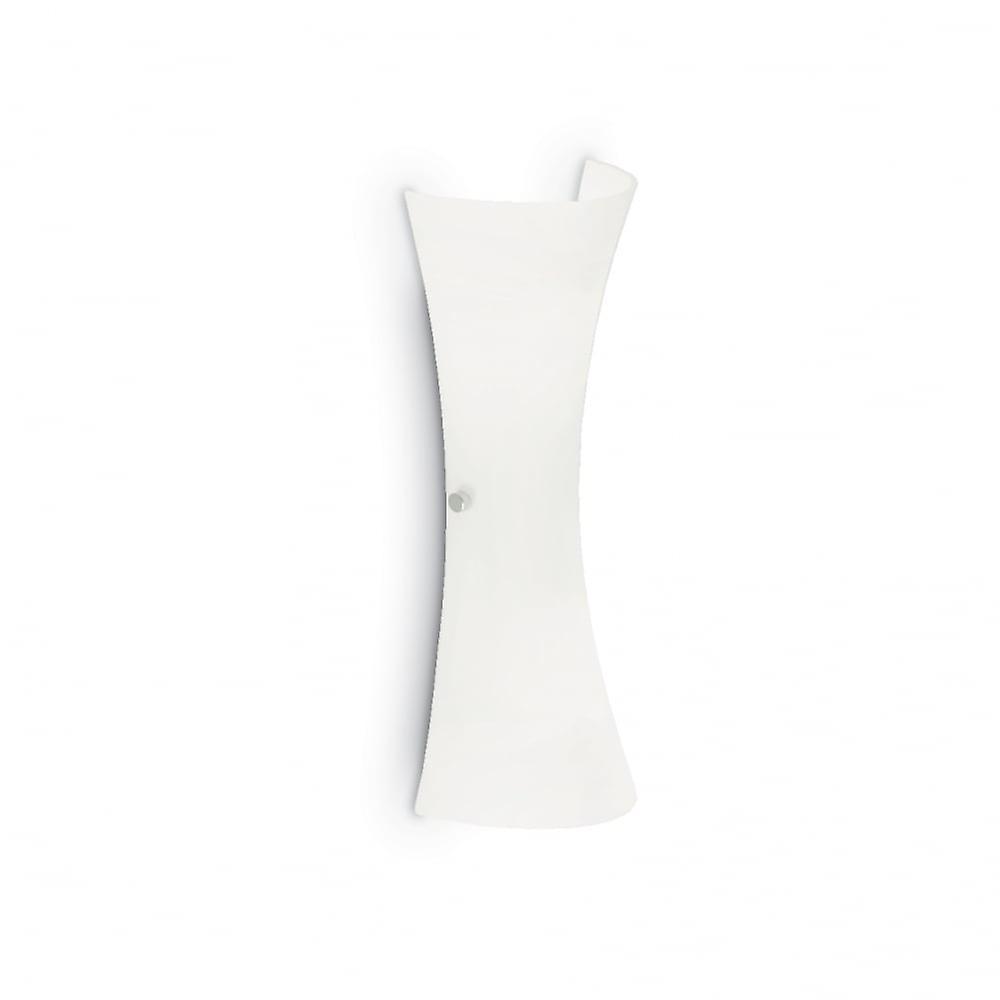 Ideal Lux Elica Modern Scroll blanc Wall lumière